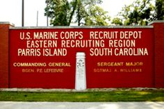 Find a Marine Corps Ring in Parris Island South Carolina Parris Island, Marine Love, Once A Marine, The Few The Proud, Us Marine Corps, Down South, Along The Way, South Carolina, Stuff To Do