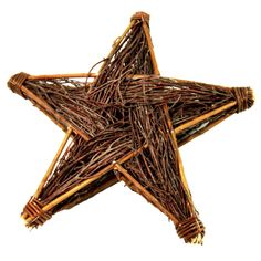 Create a statement with this charming natural Wicker Star Great as an all year round decoration Perfect for any home and garden Available in small