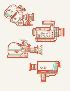 """""""Camera Collectionby Andres E…"""" in Illustration"""
