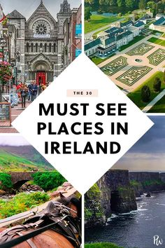 30 Must-See Places and Things in Ireland purewow international travel europe 88172105192327090 Costa, Ireland Vacation, Ireland Travel, Honeymoon Ireland, Dublin Travel, Galway Ireland, Cork Ireland, Vacation Places, Vacation Spots