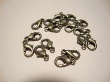 Rapulukko antiikkihopeoitu 10 mm (20/pss)