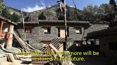 Purna is a project supervisor for John Sanday Associates. As such, he overs the site of the Chairro Gompa, whose restoration is supported by Restoration Work. It Works, Restoration, Watch, House Styles, Youtube, Projects, Log Projects, Clock, Youtubers