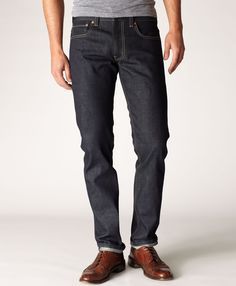 Levi's Made in the USA 511™ Skinny Jeans - Raw Selvedge - New Finishes