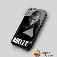 Chris Brown Breezy iPhone 5 Hard Case Cover - 1