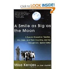 The most wonderful book about teaching.  While it focuses on special needs it's applicable to all abilities.  Words can't express it's impact on my teaching career.  A movie has been made and John Corbett is going to star as the teacher who takes his special needs students to space camp.  A must read for all teachers, student teachers, and anyone who works with children. @heather klikas