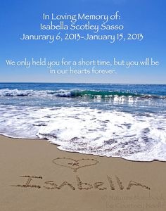 Infancy Loss Sympathy Gift Name Written In The Sand Memorial Beach Print Of Child Pregnancy Infant Rememrance