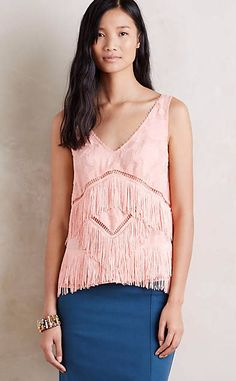 Tiered Fringe Shell #anthroregistry