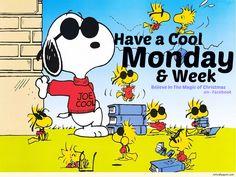 Happy Monday Snoopy & Woodstock 4/18/16
