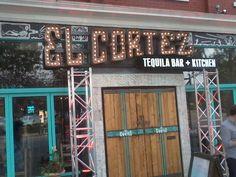 El Cortez Tequila Bar + Kitchen - Connect2Edmonton Tequila Bar, Bar Kitchen, Neon Signs, Restaurant, Messages, Diner Restaurant, Restaurants, Supper Club