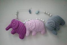 Crochet Elephant Amigurumi Free Pattern with Video Toy Wagon, Crochet Elephant, Diy Gifts, Free Pattern, Knit Crochet, Dinosaur Stuffed Animal, Knitting, Toys, Crafts