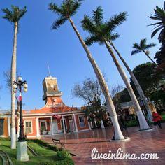 Plaza de Barranco, Main square of Barranco #Lima #Peru