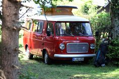 This Is How I Want To Go Everywhere - Fiat 238 camper van