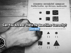 Can you answer these IQ questions using only your mind? Don't use Google or pen and paper. Give it a shot! Please try more teacher quizzes at http://teacherprobs.com/knowledge Please like our FaceBook page at https://Facebook.com/teacherproblems Rocket Scientist Smart!! 100%