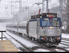 RailPictures.Net Photo: AMTK 938 Amtrak ASEA AEM-7 at West Windsor, New Jersey by Joe Osciak