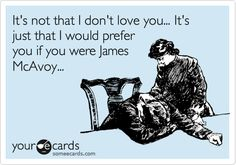 a few years ago, friends of mine to could testify to this...after watching becoming Jane, couldn't shut up about him..lol