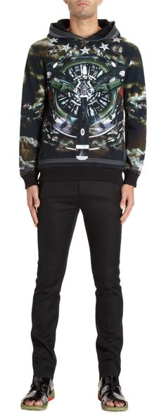 Givenchy Fighter Jet Hoodie. Kind of really awesome.