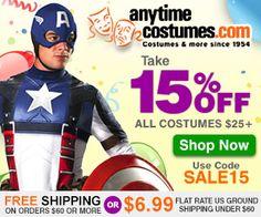 15% OFF Halloween Costumes! | WooHooYeah