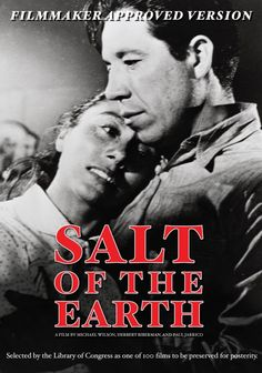 Today in Labor History - March 14th -- The filmSalt of the Earth, which tells the story of the 1951 strike by members of the International Union of Mine, Mill, and Smelter Workers at the Empire Zinc mine in New Mexico, premiered on this date. Of the 13,000 movie theaters in the U.S. at the time of its release, only 13 showed the film.  https://wp.me/p3Pwmp-2LW?utm_content=buffer104fe&utm_medium=social&utm_source=pinterest.com&utm_campaign=buffer