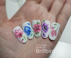 Nail Art, Nails, Painting, Work Nails, Finger Nails, Ongles, Painting Art, Nail Arts, Nail