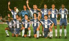 Fc Porto 1998/99 Fc Porto, Soccer, Football, Memories, Sports, Grande, Balls, Blue And White, Converse