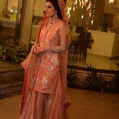 Instagram media thehouseofkamiarrokni - Custom made bridals at the house of kamiar rokni #walima#sparkle#glamerous#bridals