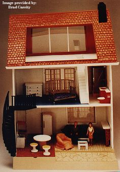 Fisher Price Doll House - got this for Christmas in 3rd grade and played with it til it fell apart.