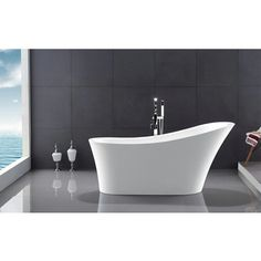 Shop For Legion Furniture 67 Inch Freestanding Bathtub. Get Free Shipping  At Overstock.