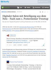 """#Nachlese #Blog zum #IMT13-Tweetup im Museum Burg Posterstein: """"Digitaler Salon mit Beteiligung aus dem Netz"""" @BurgPosterstein"""