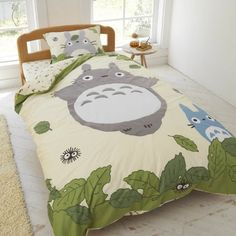 Studio Ghibli Neighbor Totoro Duvet Comforter Cover Fitted Sheets Set Studio Ghibli,http://www.amazon.com/dp/B00I6FQSNY/ref=cm_sw_r_pi_dp_d24Htb0NFC5J40KA