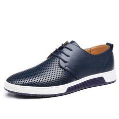 Men's Shoes - Summer Breathable Luxury Shoes