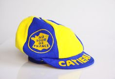 Authentic vintage Tour de France hat 1970 hipster by hipposdream, €47.00