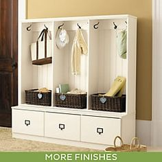 Owen Entryway Cabinet - This is modular so you can expend the ...