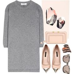 Valentino cashmere Sweater by thestyleartisan on Polyvore featuring Valentino, Chloé, Joanna Laura Constantine, STELLA McCARTNEY, ferm LIVING and Louis Vuitton