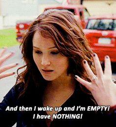 Jennifer Lawrence (silver linings playbook,movie,gif,empty,sad,awake)