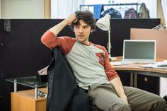 """"""" Colin Morgan, Gloria A new photo from the rehearsal ! Thanks to Hampstead Theatre. """""""