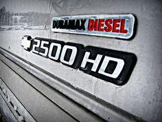 Duramax Diesel 2500 HD :)