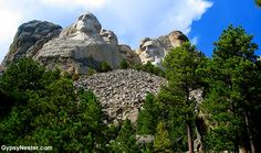 Bucket List Item: Mount Rushmore! We got some great angles! See more: http://www.gypsynester.com/mount-rushmore.htm #nationalpark #mountrushmore #travel