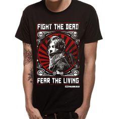 The Walking Dead - Fight The Dead heren unisex T-shirt zwart - XL - T
