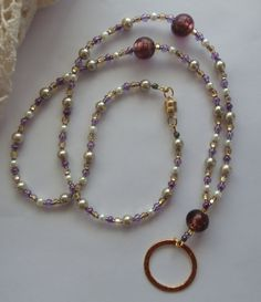Perfect badge lanyard or eyeglass necklace! arepaki.etsy.com  $21.00