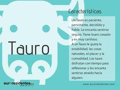 Características Tauro