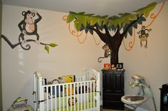 Monkey Baby Bedding Bing Images For The Home Pinterest Crib And Nursery