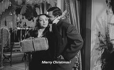 Scary Vintage Christmas | my gif gif vintage horror television the addams family carolyn jones ...