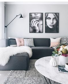 Dark Gray sofa Living Room Inspirational Charcoal Couch Oh Eight Ohne … Grey Couch Decor, Light Gray Couch, Dark Grey Couches, Charcoal Couch, Black Sofa, Charcoal Gray, Charcoal Sofa Living Room, Gray Room Decor, Wall Decor