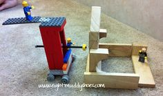 Lego Assyrian Siege Tower - Story of the World, Book 1, Chapter 16