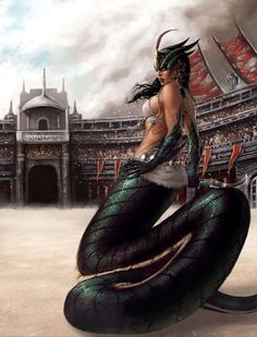 Naga (Rune Quest II. Arena) by Liarath