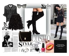 """SheIn"" by elza-345 ❤ liked on Polyvore featuring Marc Jacobs, Just Cavalli, Alice + Olivia, Valentino, Tom Ford and OPI"