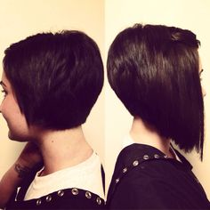Tired of your pixie cut? A line before and after tape in extensions (: