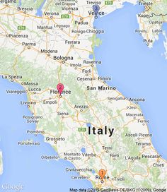 Europe itinerary | 10 days romantic trip | RoutePerfect - 1. Rome (4 nights), 2. Florence (3 nights), 3. Venice (2 nights)