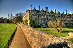 Dead Man's Walk, Oxford by sdhaddow, via Flickr