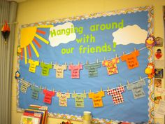 Spring bulletin board ideas for preschool | Bunches of Bulletin Boards | Preschool PlayTime
